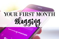 """Is it your first month blogging? When I started blogging, I didn't have a """"Blogging for Dummies"""" book, so I just read every tutorial I could find and Pinned my heart out. I learned everything I know about blogging (code, marketing, social media, content, etc!) by myself! But goodness gracious, did I ever"""