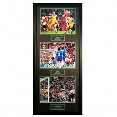 Arsenal F.C. Treble Legends Signed Framed Prints