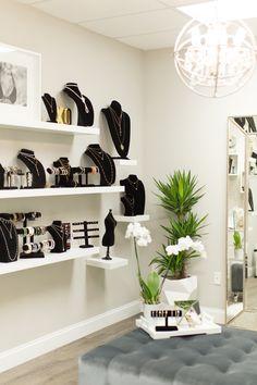 Sahira Jewelry Design Studio Showroom // Jewelry Showroom // Jewelry store decor //Boutique decor