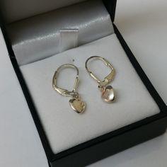 Vintage Ohrstecker -  Kinder Ohrringe Silber 925 Ohrhänger Herzen KO101 - ein Designerstück von Atelier-Regina bei DaWanda