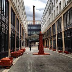 Cour historique du 74 rue du Faubourg Saint Antoine, Paris 12ème