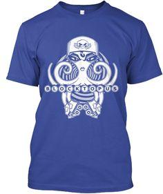 Blocktopus Shirt by RonkyTonk