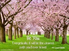 Be you quote via Coach Bobbi at www.Facebook.com/12StepstoSelfEmpowerment or www.FallinLoveWithLife.com