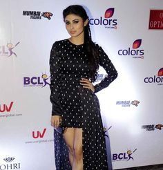 Mouni Roy at anthem launch of BCL team Mumbai Tigers. #Bollywood #Fashion #Style #Beauty #Hot #Bengali