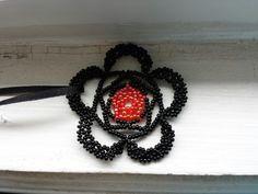 Lace flower Gothic/ Victorian pendant