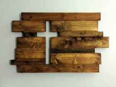 Cross, Rustic Wood Cross. Each handmade piece is made to order. These beautiful rustic pieces are generally made of oak, cedar pine and reclaimed wood