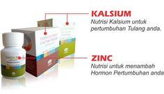 Distributor Resmi Susu Kalsium NHCP Dan Zinc Capsule Tiens Di Medan Harga Termurah