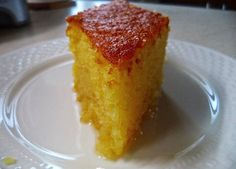Ραβανι αφρος απο τη Σοφη Τσιώπου Greek Sweets, Greek Desserts, Greek Recipes, Candy Recipes, Wine Recipes, Dessert Recipes, Homemade Sweets, Homemade Cakes, Greek Cake