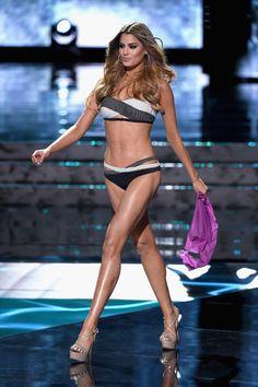 Ariadna Gutiérrez no Miss Universo em Las Vegas, nos Estados