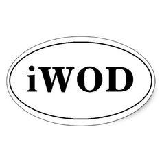 IWOD sticker