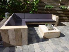 steigerhouten meubelen: Steigerhouten tuinmeubelen