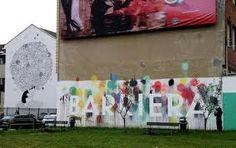 Lapislazzuli Blu: #Case come #tele, #street #art #cambia #città  #To...
