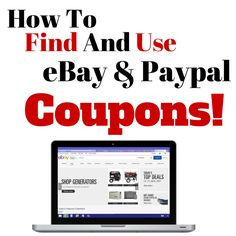 EBay and Paypal have been giving away electronic discount coupons for some time and hundreds of users have been cashing in on them!