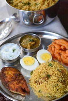 Lunch Dinner Menu 4 south Indian Non vegetarian lunch menu