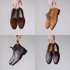 A little recent recap do you have a fav? Berwick Shoes, Your Shoes, Men's Shoes, Goodyear Welt, Stylish Men, Oxford Shoes, Menswear, Hands, Classic
