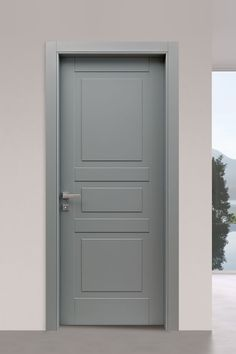 The Venezia collection of classic doors by includes with classic decorations in a contemporary and fresh style. The catalogue offers a wide range of models with different models design Interior Door Styles, Door Design Interior, Bedroom Door Design, Home Room Design, Wooden Door Hangers, Wooden Doors, Scandinavian Doors, Classic Doors, Modern Door
