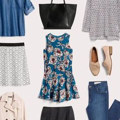 The Business Casual Wardrobe Checklist - I love business casual pieces the best because I can dress them up or down depending on my mood. I also don't have to have multiple wardrobes then !