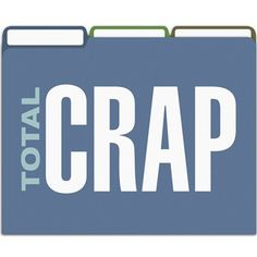 Crap File Folders | Funny Office Products | The Onion Store