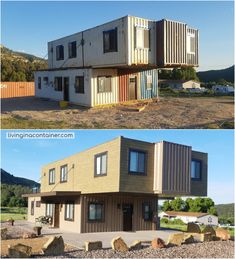 The Magnificent Hideaway Litchfield Container Cabin in Nature - Australia - Living in a Container Building A Container Home, Container Buildings, Container House Plans, Container House Design, Container Architecture, Cargo Container, Container Store, Shipping Container Cabin, Shipping Container Home Designs