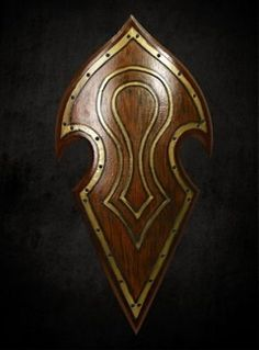 Elven Battle-Shield, LARP-Shield