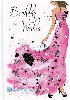 Fashion Happy Birthday Wishes - Bing Happy Birthday Woman, Happy Birthday Wishes Cards, Birthday Wishes And Images, Happy Birthday Pictures, Birthday Blessings, Birthday Cards For Women, Happy Birthday Quotes, Family Birthdays, Friends Girls