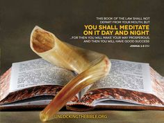 """This book of the law shall not depart from your mouth, but you shall meditate on it day and night…For then you will make your way prosperous and then you will have good success."" Joshua 1:8 #Bible @UnlckngtheBible"