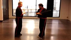 This video points out a common mistake with footwork in the Modern Arnis block, check, counter drill. Here's a fix. http://www.bamboospiritmartialarts.com ht...