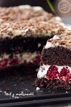 Polish Desserts, Polish Recipes, Cookie Desserts, Sweet Recipes, Cake Recipes, Food Cakes, How Sweet Eats, Baked Goods, Sweet Treats