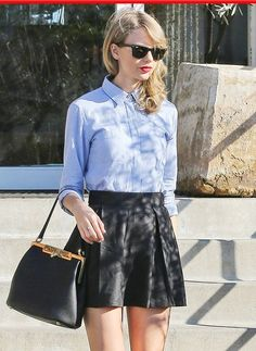 7 Days Of Ladylike Outfits Inspired By Taylor Swift - Celebrity Street Style Taylor Swift Shoes, Taylor Swift Moda, Taylor Swift Style, Street Style Trends, Cute Birthday Outfits, Party Outfits, Jessica Parker, Vintage Skirt, Vanity Fair