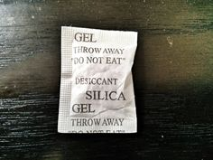 10 Clever Ways To Use Silica Gel Packs (So Don't Throw Them Away)