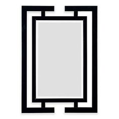 Achieve a modern art vibe with the Kenroy Home Shinto Mirror's Asian-inspired design. Its sharp angles and use of negative space can be used to contrast with the colors of surrounding pieces. This functional accent works great as a chic focal point. Over The Door Mirror, Mirror Bed, Round Wall Mirror, Floor Mirror, Black Mirror, Shower Mirror, Home Decor Mirrors, Black Bedding, Guest Towels