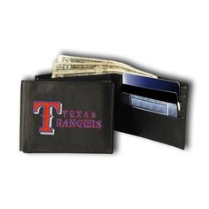 Texas Rangers Embroidered Billfold Wallet
