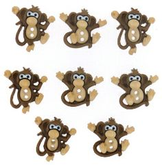 Monkey buttons :)