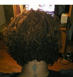 Locs curly. Love the layering. I want this cut ASAP!!