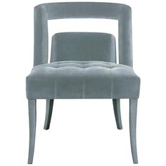 European Modern Velvet and Nickel Studded Naj Dining Chair by Brabbu | From a unique collection of antique and modern dining room chairs at https://www.1stdibs.com/furniture/seating/dining-room-chairs/