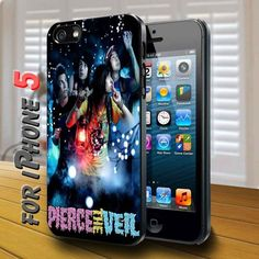pierce the veil band - design case for iphone 5 | shayutiaccessories - Accessories on ArtFire