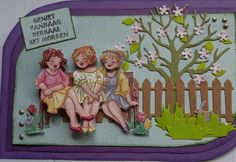 S Girls, Boy Or Girl, Funny Girls, Craft Shed, Art Impressions, Big Guys, 3d Cards, Girl Humor, Scrapbook Cards