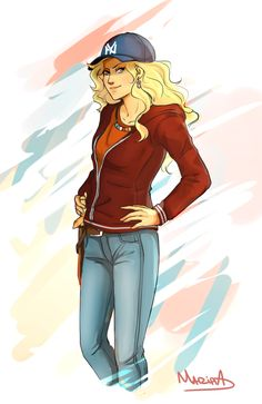 Hello. I'm Annabeth. Daughter of Athena. I'm 17 and dating a seweed brain. Haha its Percy. I love to read and design things.