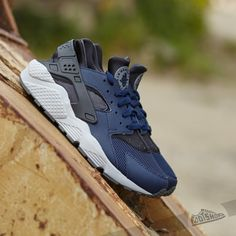 07da63518d73 Nike Air Huarache Midnight Navy  Midnight Navy- Dark Ash- Cool Grey