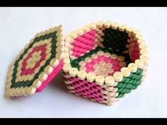 How to make a Stationery /Desk Organizer using cardboard and newspaper - YouTube