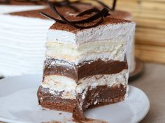 Kolaci I Torte, Torte Recepti, Orange Dreamsicle Cake Recipe, Eclair Cake Recipes, Torta Recipe, Strawberry Cake Recipes, Sweet Cooking, Sweet Desserts, Sweet Recipes