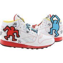 Keith Haring Reeboks