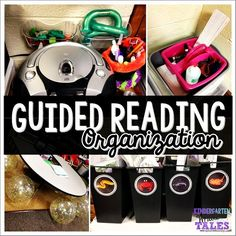 Kindergarten Whale Tales: Organizing Guided Reading