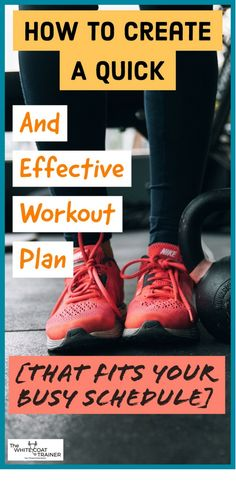 How To Create A Fitness Plan In 3 Simple Steps How to Create a Quick and Effective Workout Plan That Fits Your Busy Schedule Weekly Workout Plans, Workout Schedule, Weekly Workouts, Workout Calendar, Workout Tips, Workout Routines, Crossfit, Leg Training, Strength Training