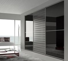 closet de vidrio negro - Google Search
