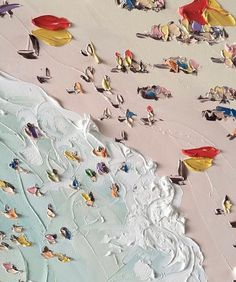 Beach by sally west, summer vibe ❤ Art And Illustration, Illustrations, Kunst Inspo, Art Inspo, Sally West, Wow Art, Painting & Drawing, Drawing Tips, Drawing Ideas