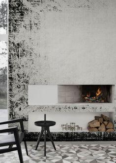 Wall Carpet Wallpaper Mural by Behangfabriek - Black & White