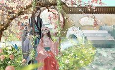 Anime Oc, Anime Chibi, Couple Painting, Human Art, Ancient China, Anime Scenery, Chinese Art, Chinese Style, Cardcaptor Sakura