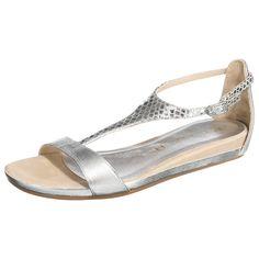 Sommerlich modische Unisa Asunta Sandaletten aus Echtleder, das am T-Steg in angesagten Animalprint gestaltet wurde.