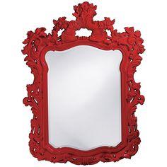 Howard Elliott Turner Red Mirror 2147R